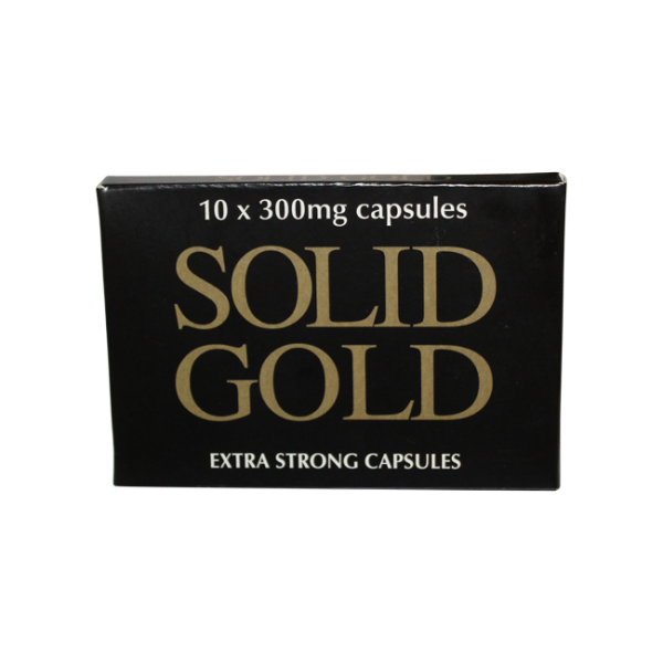 Solid Gold x 10 – Performance Enhancer