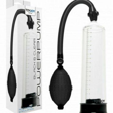 Toy Joy Black & Clear Power Pump
